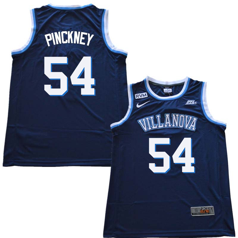 2018 Men #54 Ed Pinckney Willanova Wildcats College Basketball Jerseys Sale-Navy