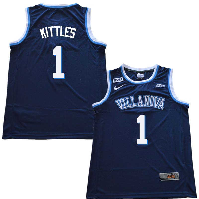2018 Men #30 Kerry Kittles Willanova Wildcats College Basketball Jerseys Sale-Navy